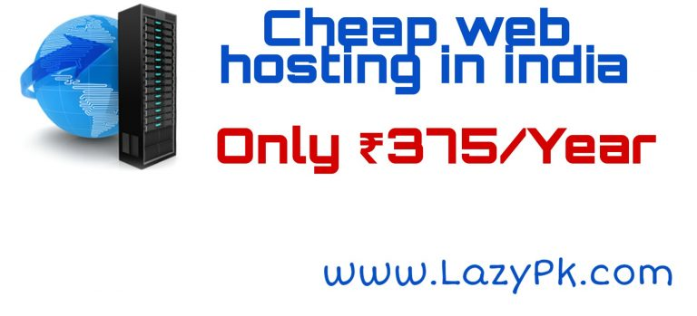 Cheap web hosting in India
