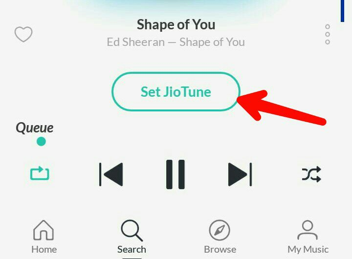 How to set jio caller tune by mobile