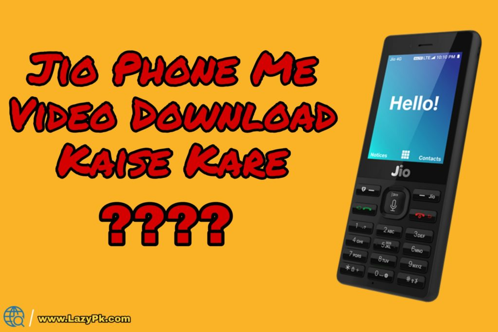 Jio phone par whatsapp download kaise karte hai