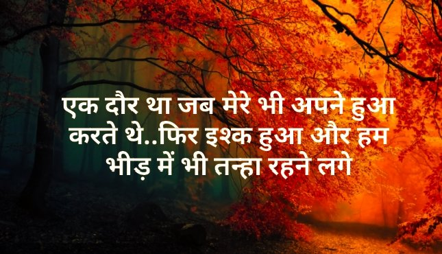 Shayari in Hindi For Love